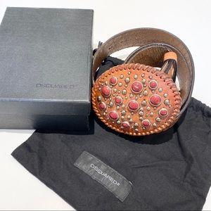 DSQUARED Leather Belt